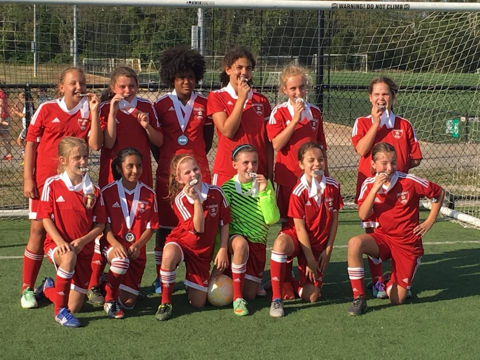 2005 Girls White Team - 2017 PWSI Icebreaker Champions
