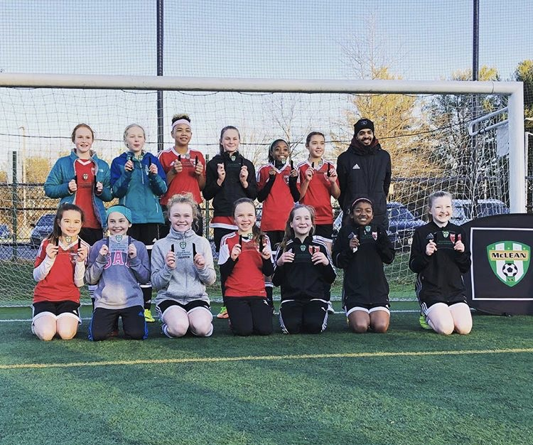 2006 Girls Red Team McLean Premier Tournament - Champions
